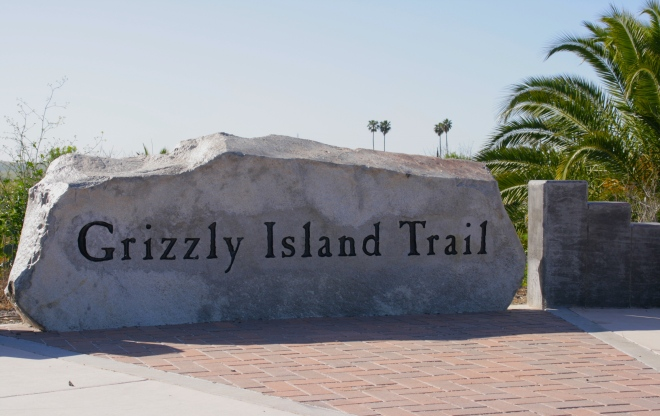 Access to the Grizzly island Trail at the intersection of Marina Blvd. and Rte. 12.