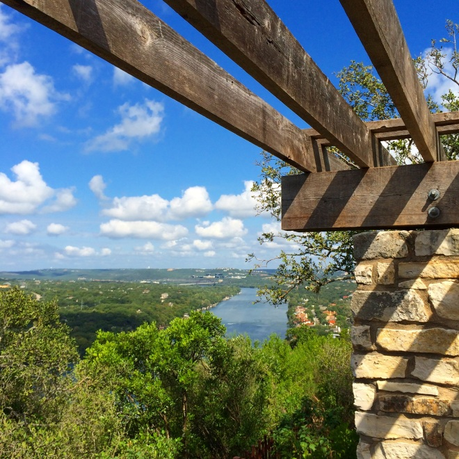 View of Austin, Texas from Mt. Bonnell