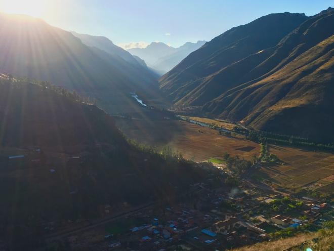 Sacred Valley Panorama