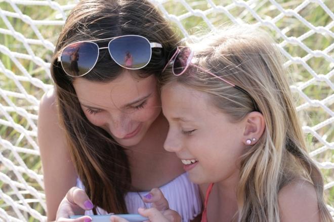 Girls in Cape Cod