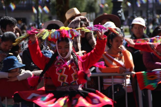 Festival in Cusco Peru