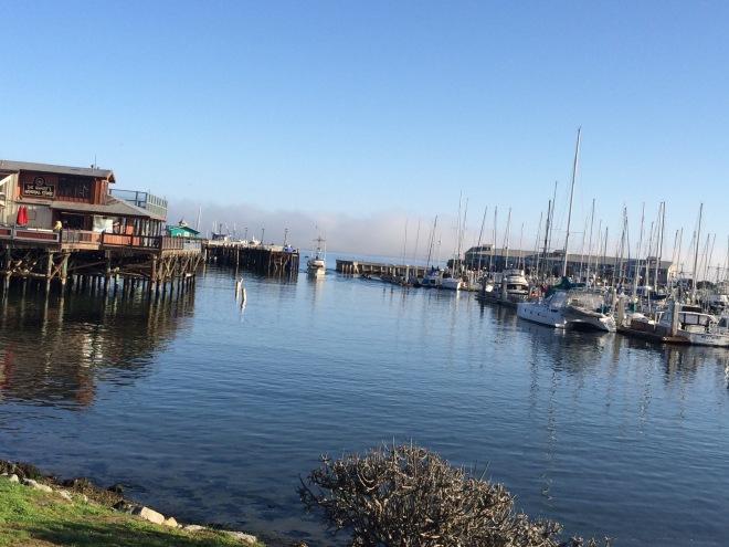 Fisherman's Wharf at Monterey Bay