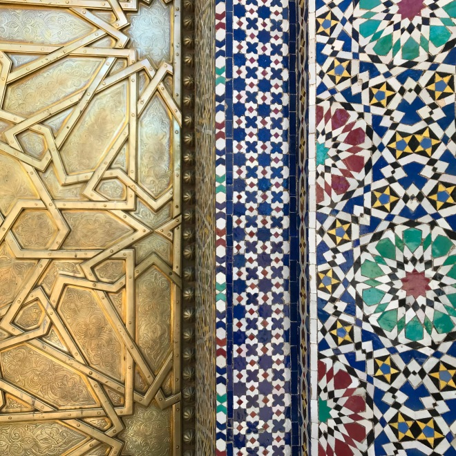 Tile work of Fes