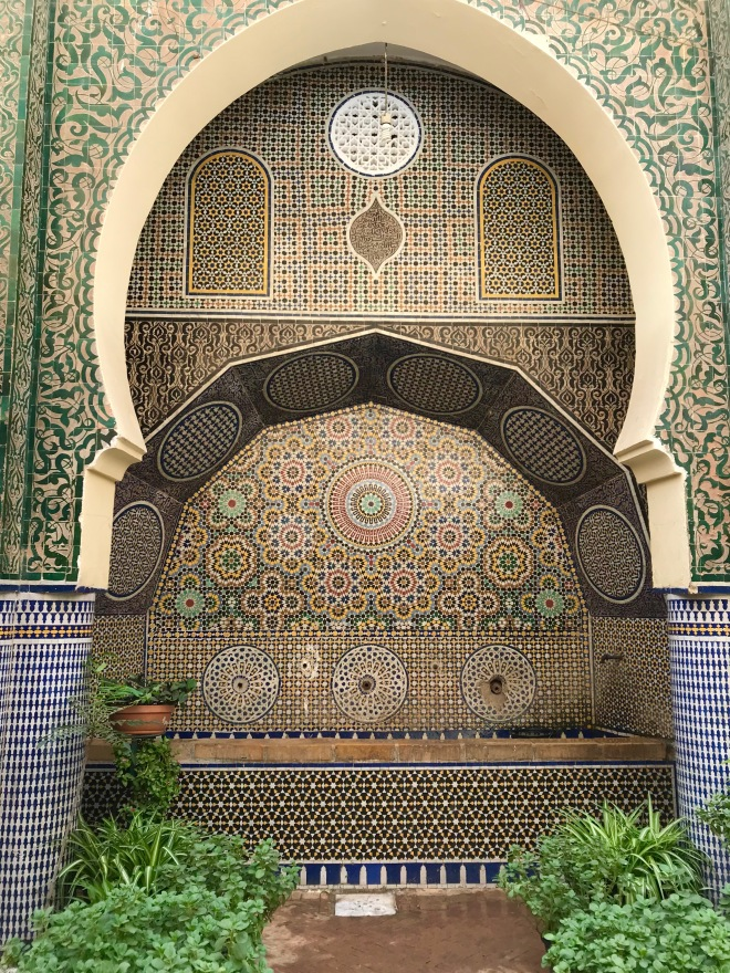 Fountain in Fez