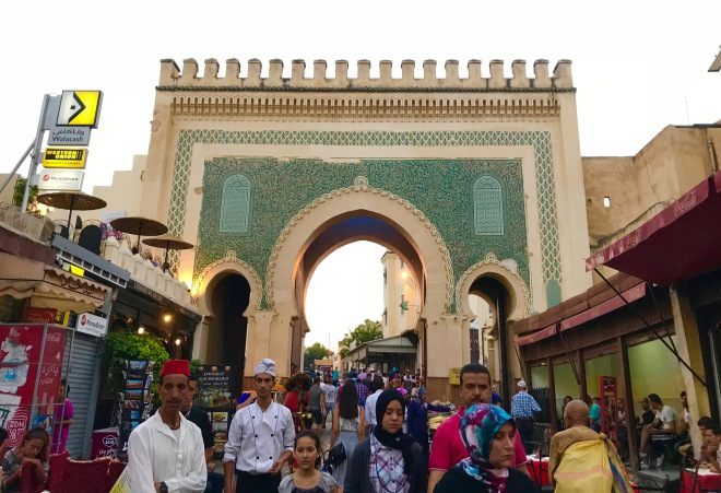 The Blue Gate of Fez