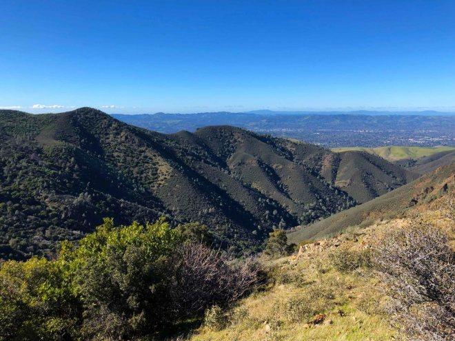 Mount Diablo Trail View